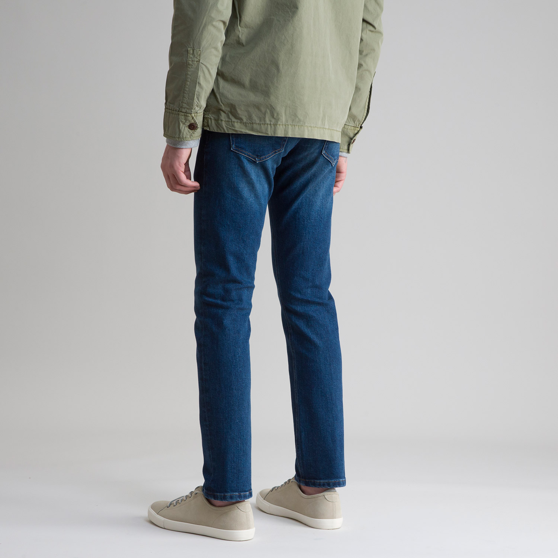 Indigo Stretch Medium Jean