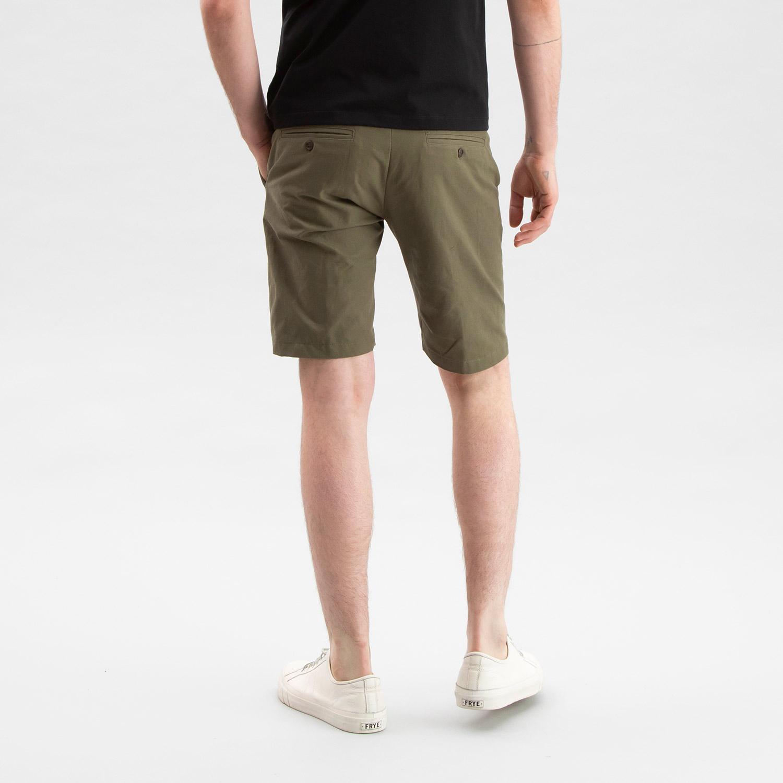 Canvas Shorts Olive