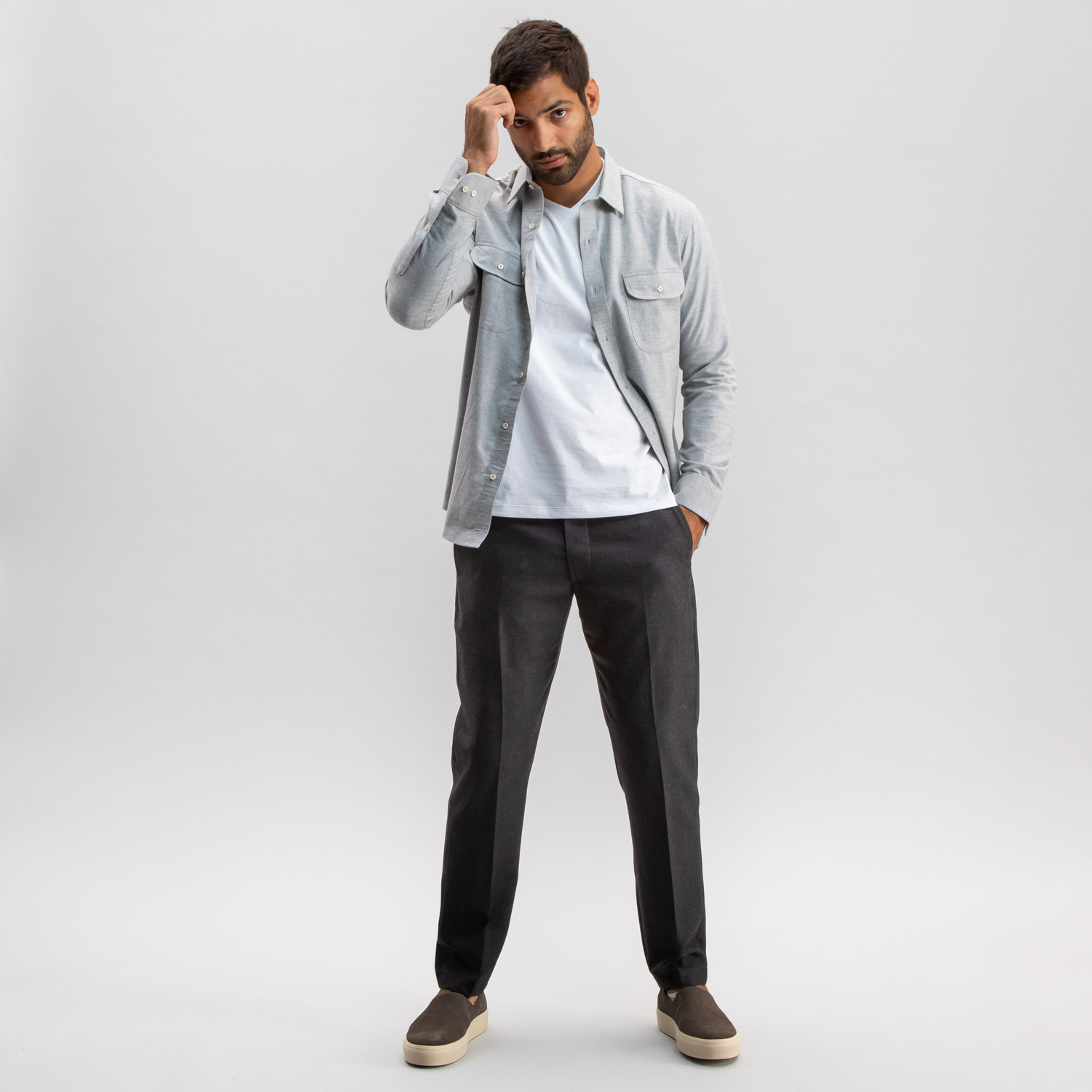 El Capitan Trouser Dark Grey