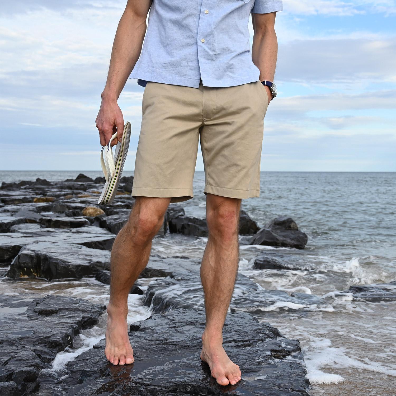 Surfside Classics Shorts Light Tan