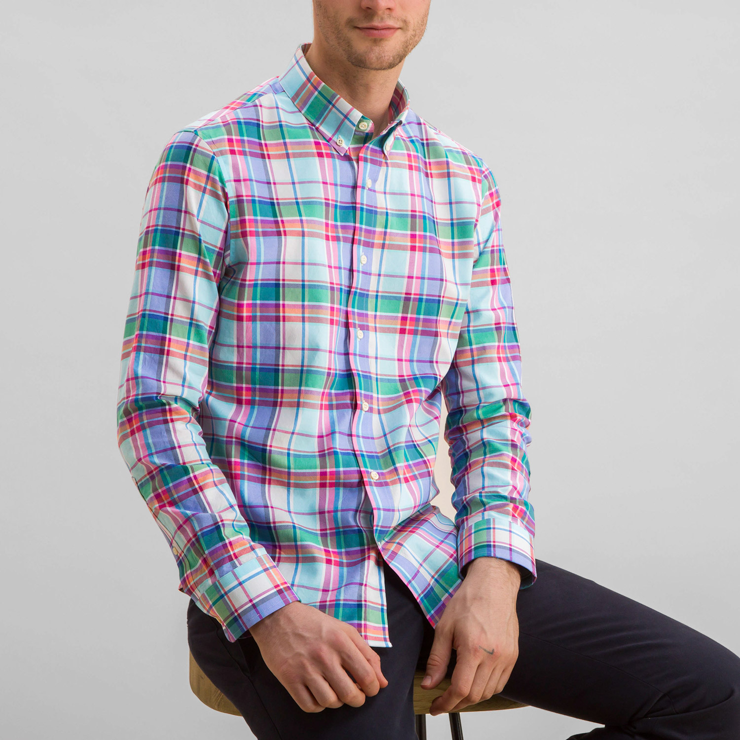 Spring Renewal Plaid Shirt
