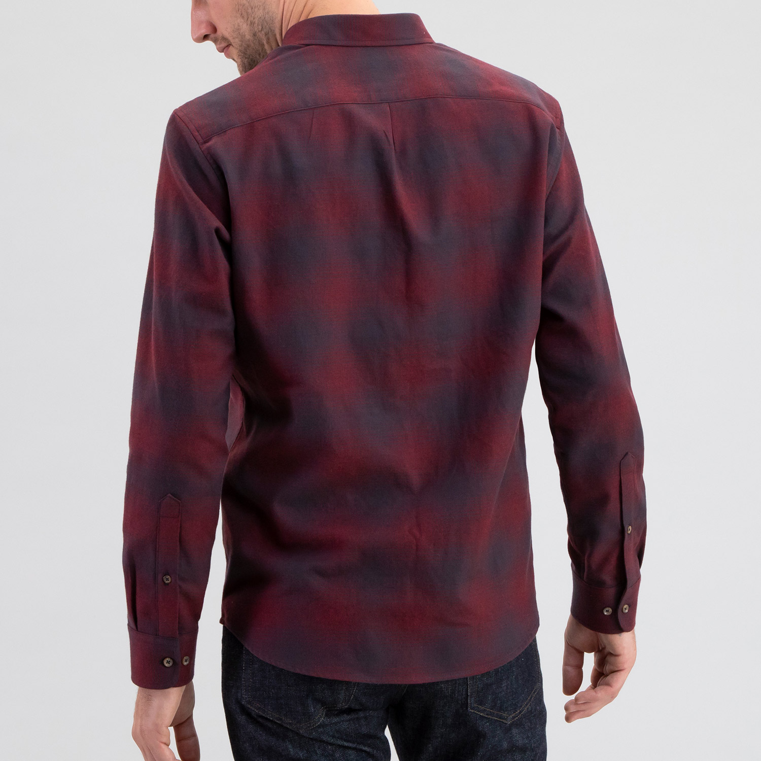 Maroon Plaid Flannel