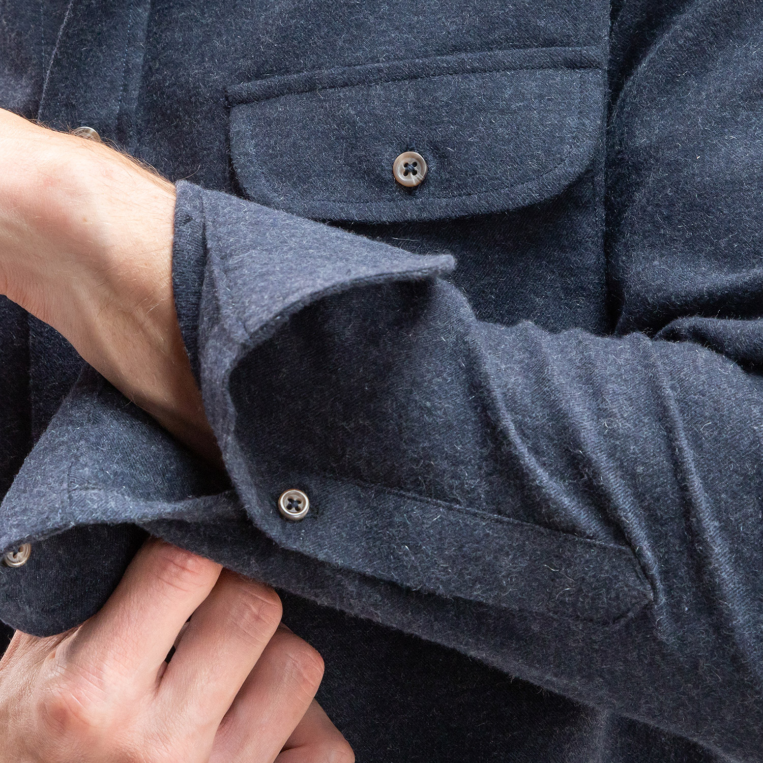 Prince Charles Cashmere Navy