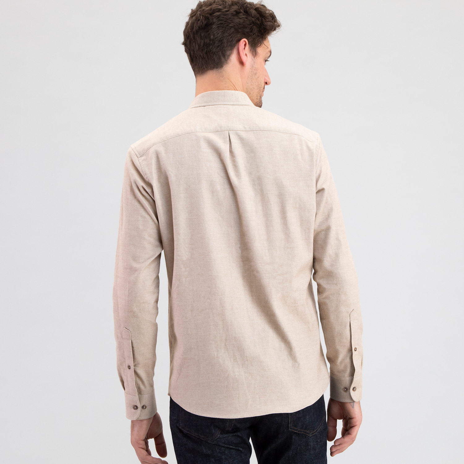 Cotton Cashmere Heather Tan