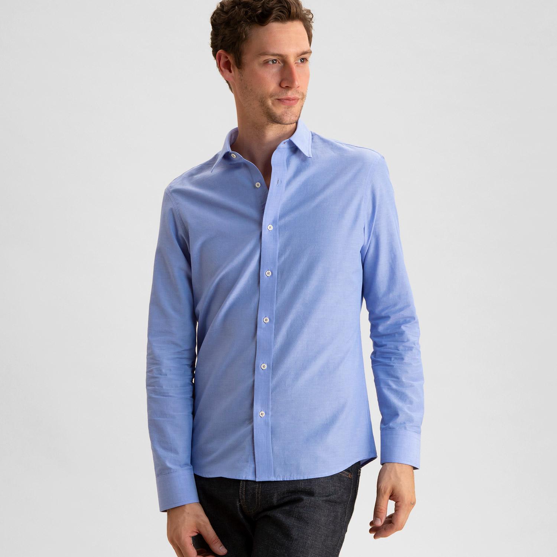 Chambray Shirt Medium Blue