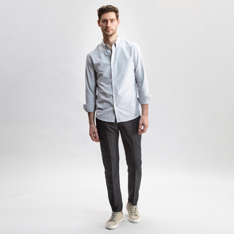 Jim Dandy Oxford Light Grey
