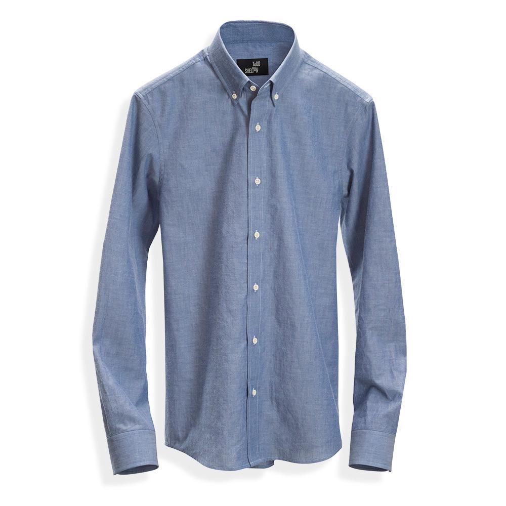 Natural Chambray Shirt Blue