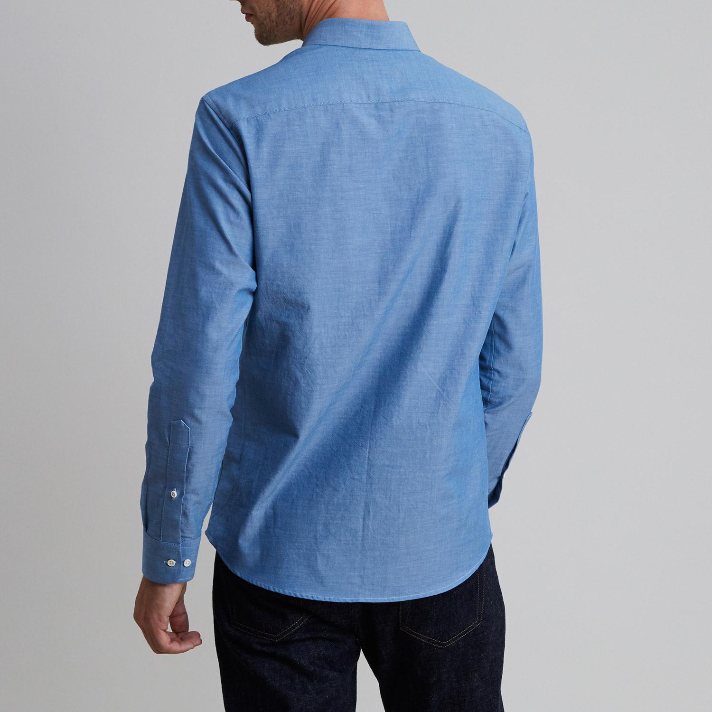 Chambray Shirt Western Blue
