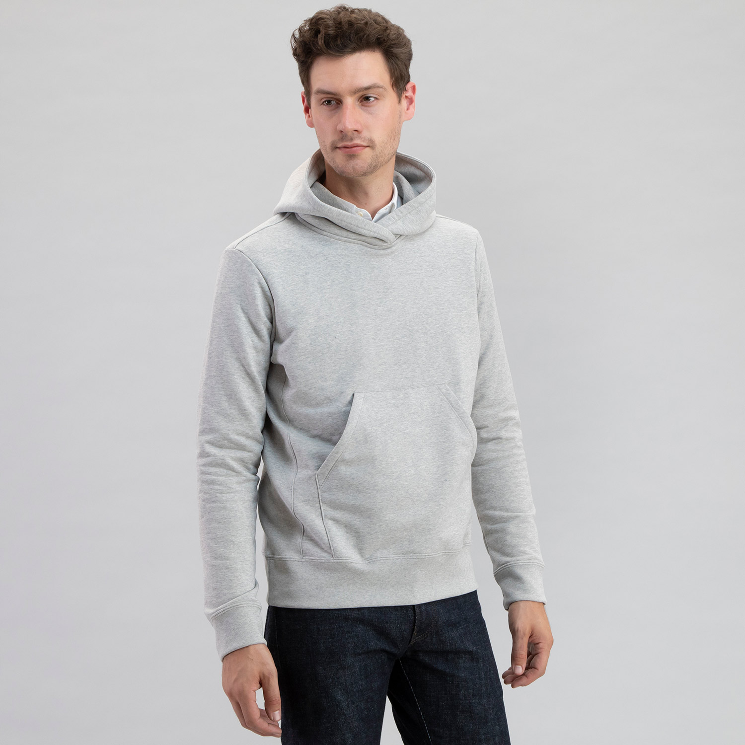 Electric Company Pullover Heather Grey