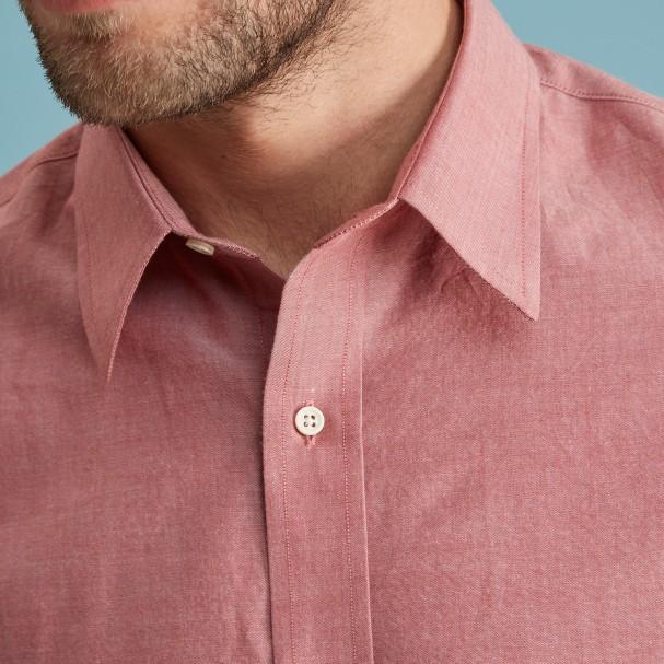 Red Chambray Shirt