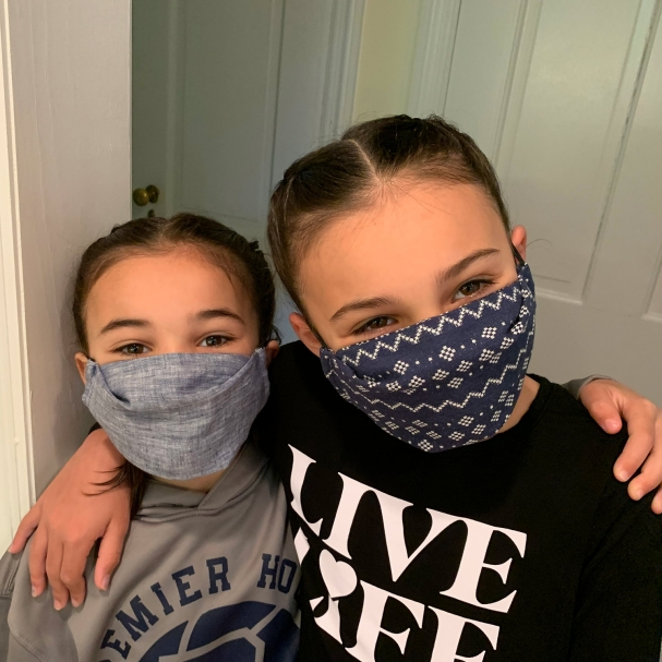 1st Generation (Early Pandemic) Cotton Face Mask