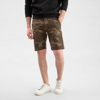 Camo Cotton Shorts