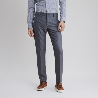 Captain Wool Light Grey Trouser