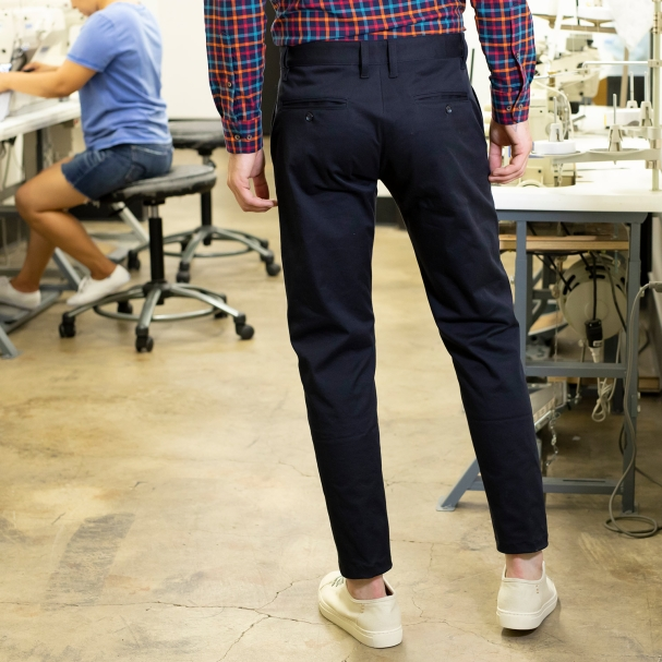 Factory Clean-Out / Stretch Khaki Navy