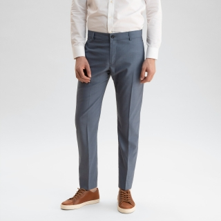 Lightweight Wool Trouser Medium Blue
