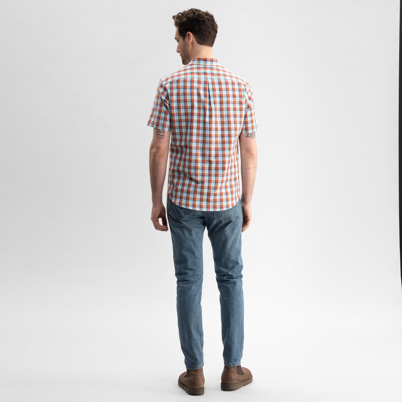 Chambray Shirt Plaid