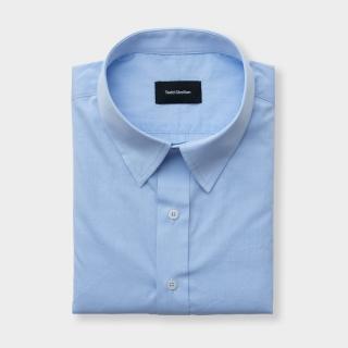Standard Poplin Shirt Blue