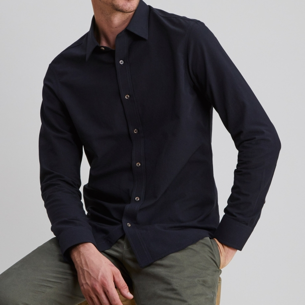Chambray Shirt Black