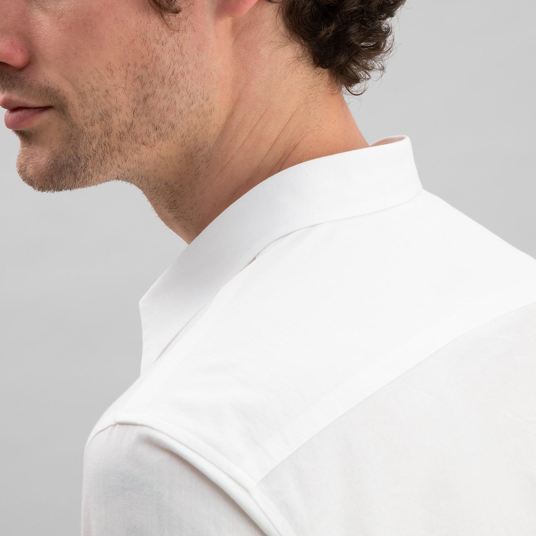 Chambray Shirt Off-White