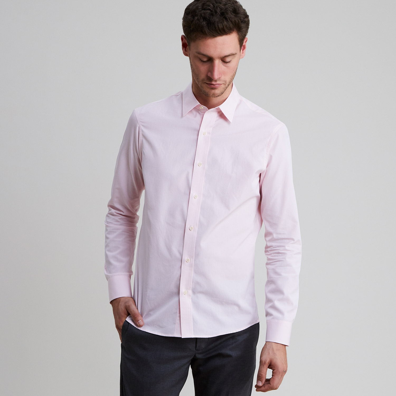 Standard Poplin Shirt Pink