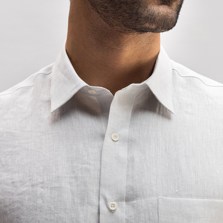 Portuguese Linen Light Grey