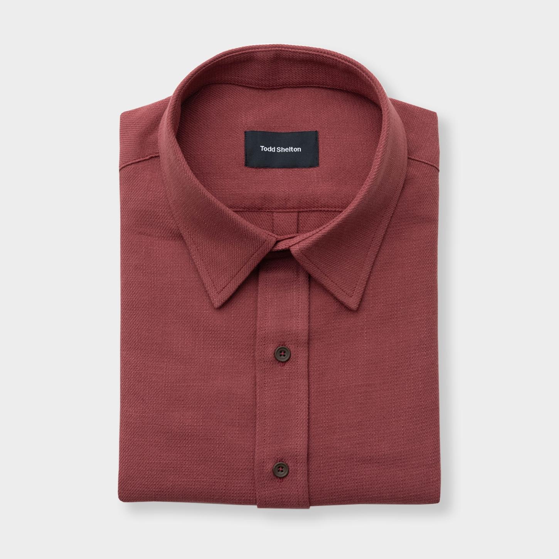 The Craftsman Shop Rag Red