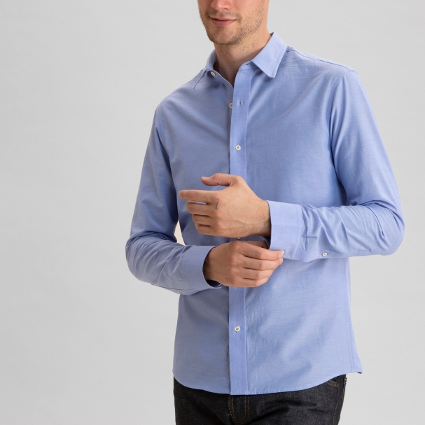Chambray Shirt Medium Blue