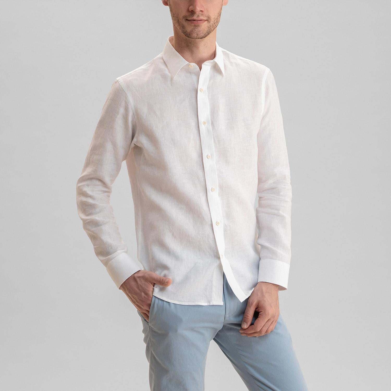 Linen Shirt White
