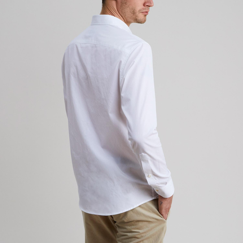 Standard Poplin Shirt White