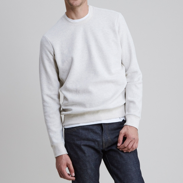 Classic Sweatshirt Heather Ash
