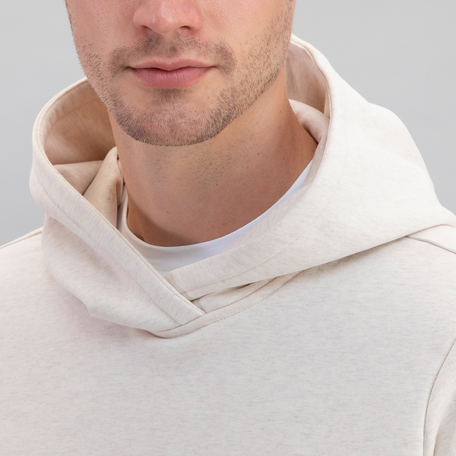 Electric Company Pullover Hoodie Heather Tan