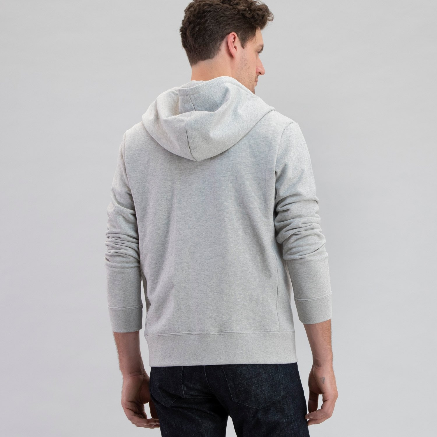 Electric Company Zip Hoodie Heather Grey